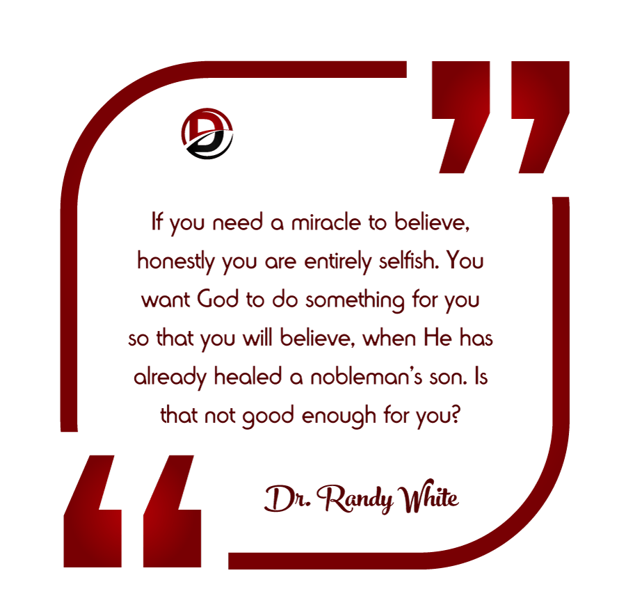 Do We Need Miracles Today Dispensational Publishing