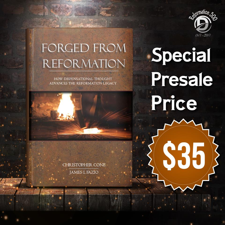 """Forged from Reformation"" Presale Box Ad"