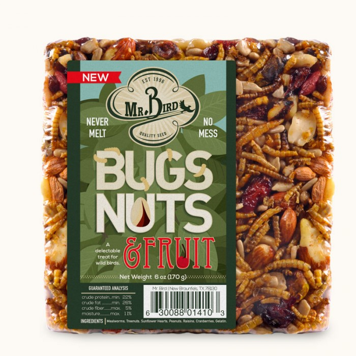 Mr. Bird Bug Nuts and Fruit